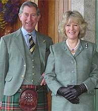 Foto oficial de la pareja difundida por la Familia Real británica. (Foto: princeofwales.gov.uk)