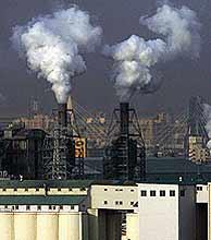 Los gases industriales son uno de los principales factores del cambio climático. (Foto: REUTERS)
