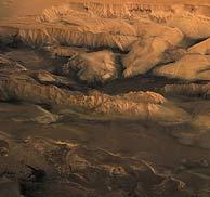Imagen del Valle Marineris de Marte. (Foto: ESA)