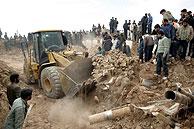 Dahouyeh, una de las localidades más afectadas por el seísmo. (Foto: EFE)