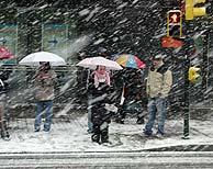 Zaragoza se mantiene en alerta por las fuertes nevadas registradas. (Foto: EFE)