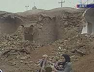 Una de las aldeas iraníes destrozada tras el terremoto. (Foto: AP)