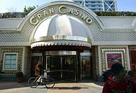 Fachada del casino de Barcelona, donde fue detenido el capo. (Foto: AP)