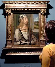 Un autorretrato del artista. (Foto: EFE)