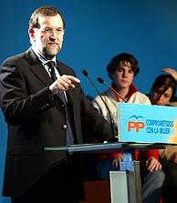 Rajoy durante su intervención. (Foto: EFE)