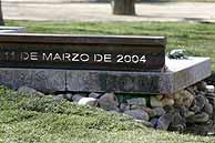 Escultura homenaje de la Universidad Complutense de Madrid. Foto: EFE