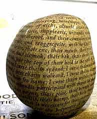 La 'Piedra Maldita' de Carlisle. (Foto: EFE)