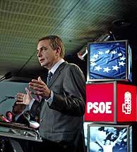 José Luis Rodríguez Zapatero, en la Casa de América de Madrid. (Foto: Javi Martínez)