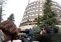 La sede del Tribunal Constitucional en Madrid. (Foto: EFE)