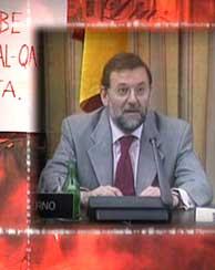 Con sus declaraciones Rajoy se desentiende de las responsabilidades del video de la Faes.