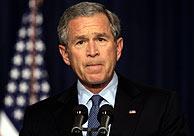 Bush, tras conocer la muerte de Terri. (Foto: REUTERS)