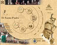 Imagen del web del Vaticano, con la cabecera 'Sede vacante'.