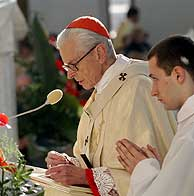 El cardenal de Cracovia Franciszek Macharski. (Foto: EFE)