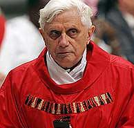 El cardenal alemán Joseph Ratzinger. (Foto: REUTERS))