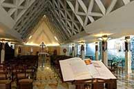 Capilla del Hospicio de Santa Marta. (Foto: REUTERS)