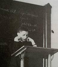 El joven Ratzinger, en el seminario de Freisig. (Foto: AP)