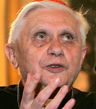 Ratzinger, en una foto de archivo. (Foto: AP)