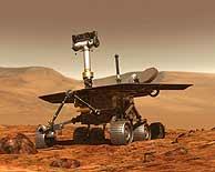 Uno de los robots exploradores de Marte. (Foto: NASA)