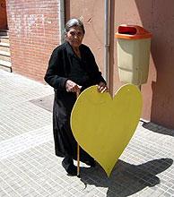 Una vecina del barrio Aldea Moret. (Foto: Artistas y Obreros del Mundo)