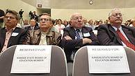 Algunos de los asistentes al juicio. (Foto: AP)