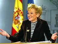 De la Vega tras el Consejo de Ministros. (Foto: Julio Palomar)