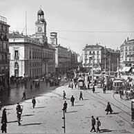 Imagen de época de Sol. (Foto: Museo Municipal Contemporáneo de Madrid)