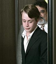 El actor, a su llegada al tribunal. (Foto: REUTERS)