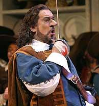 Plácido Domingo se mete en la piel de Cyrano de Bergerac. (Foto: AP)