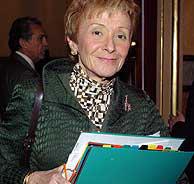 La vicepresidenta primera del Gobierno, María Teresa Fernández de la Vega. (Foto: EFE)