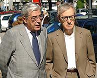 Allen, junto al presidente del Patronato del Museo del Prado. (Foto: EFE)