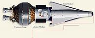 Boceto del CEV realizado por Lockheed Martin. (Foto: Lockheed Martin)
