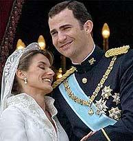 Dos Felipe y Letizia Ortiz, recién casados. (Foto: EL MUNDO)