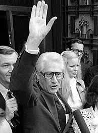 El ex 'número dos' del FBI Mark Felt, en una imagen de 1978. (Foto: EFE)