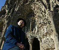 Sotoo, el escultor japonés encargado de la Sagrada Familia. (Foto: Q. García)