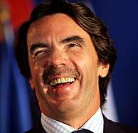EL ex presidente del Gobierno José María Aznar. (Foto: AP)