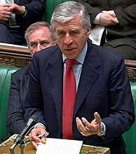 Jack Straw, durante su comparecencia ante los Comunes. (Foto: AP)