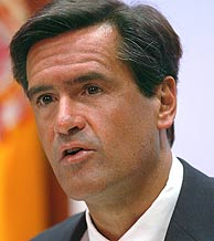 El ministro de Justicia, Juan Fernando López Aguilar. (Foto: EFE)