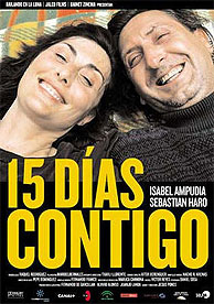 Cartel de la película de Jesús Ponce, '15 días contigo'. (Foto: http://es.movies.yahoo.com)