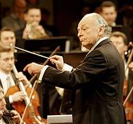 Lorin Maazel, en los ensayos del último Concierto de Año Nuevo. (Foto: EFE)