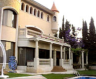 Palacete en Castelldefels. (Foto: EFE)
