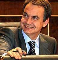 Zapatero, en el Congreso. (Foto: REUTERS)