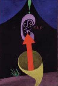 Una obra de Paul Klee. (Foto: Caixafórum)