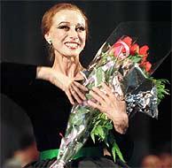 Maya Plisetskaya. (Foto: AP)