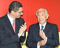 Ruiz-Gallardón y Samaranch. (Foto: EFE)
