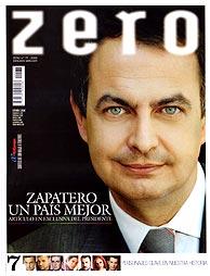 Zapatero habla de la ley en 'Zero'. (Foto: Eduardo P.V. Rubaudonadeu)