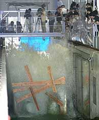 En Japón ya funciona un 'simulador' de tsunamis. (Foto: AP)
