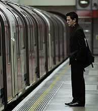 El metro está hoy casi vacío. (Foto: AP)