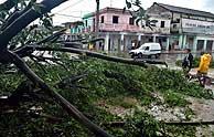 'Dennis' ha provocado importantes daños materiales en Cuba. (Foto: EFE)
