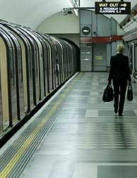 El metro de Londres. (Foto: AP)