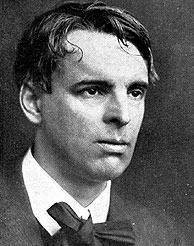 El poeta WB Yeats.